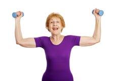 Senior Workout - Success Stock Photos