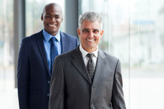 Senior young businessman Stock Photography