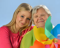 Senior and young woman. Stock Photography