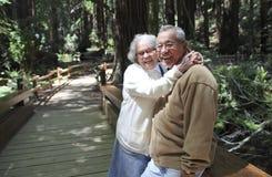 Senior zurückgezogen Lizenzfreie Stockbilder