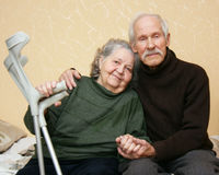 seniors Imagem de Stock