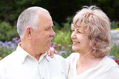 Seniors couple Stock Photo