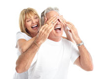 Seniors couple Royalty Free Stock Photography