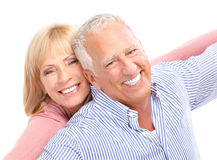 Seniors couple Royalty Free Stock Image