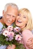 Seniors couple Royalty Free Stock Photography