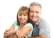 Seniors couple Royalty Free Stock Photo