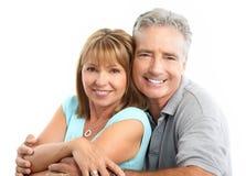 Seniors couple Royalty Free Stock Photo