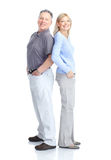 Seniors couple Stock Photography