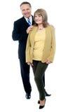 Seniors couple in love Stock Photos