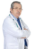 Seniors doctor Royalty Free Stock Photos