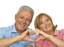 Seniors Hearth Stock Photography