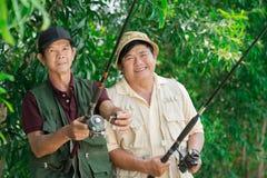 Senior�s hobby Royalty Free Stock Photo
