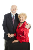 Seniors Holiday Portrait Royalty Free Stock Photography
