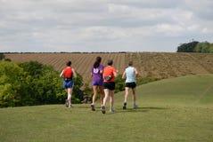 Seniors Jogging Stock Photos