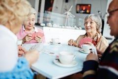 Seniors at leisure Stock Photos