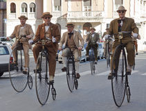 Free Seniors Old Cycles,cycling Through History Event Stock Photos - 18496383