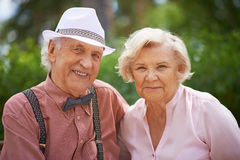 Seniors Royalty Free Stock Photos
