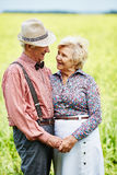 Seniors in rural environment Stock Photos