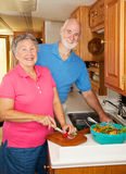 Seniors RV - In the Kitchen Stock Photography