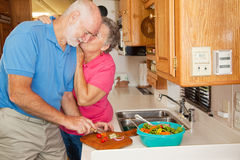 Seniors RV - Thanks for Helping Royalty Free Stock Photography