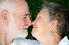 Seniors - Special Moment Stock Images