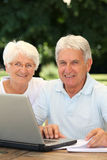 Seniors and technology Stock Photos