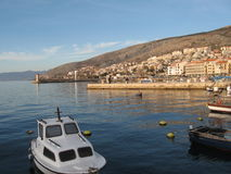 Senj city Stock Image