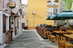 Senj, Kroatien Stockfotos