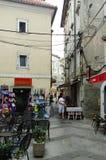 Senj, Kroatien, alte Stadt Lizenzfreies Stockbild