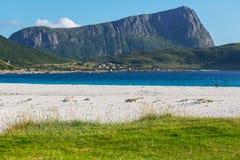 Senja-Insel stockfoto