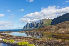 Senja-Insel stockfotos