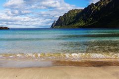 Senja island Royalty Free Stock Image