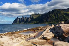 Senja island Royalty Free Stock Photography