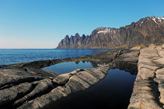 Senja island,Norway Stock Image