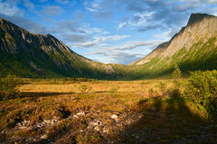 Senja island in norway Royalty Free Stock Photography