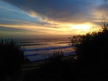 Senja plaża Obraz Stock