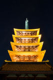 Senjoji temple in Tokyo Japan Stock Photos