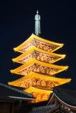 Senjoji temple in Tokyo Japan Royalty Free Stock Photo