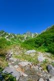 Senjojiki Cirque at the Mount Kisokoma in Nagano, Japan Stock Image
