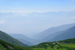 Senjojiki Cirque at the Mount Kisokoma in Nagano, Japan Stock Images