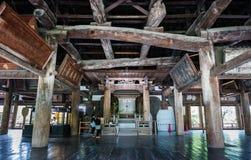 Senjokaku (capilla de Toyokuni) en la isla de Miyajima Imágenes de archivo libres de regalías