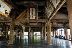 Senjokaku (capilla de Toyokuni) en la isla de Miyajima Fotos de archivo