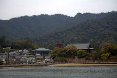 Senjokaku Temple, Miyajima, Japan Stock Photo