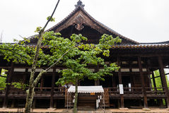 Senjokaku (Toyokuni Shrine) on Miyajima Island. Miyajima, Japan - May 6, 2016: Senjokaku (Toyokuni Shrine) on Miyajima Island. Miyajima island is a famous island royalty free stock photography
