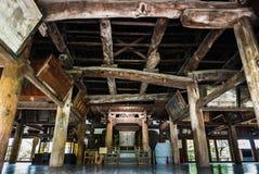 Senjokaku (Toyokuni Shrine) on Miyajima Island. Miyajima, Japan - May 6, 2016: Interior of Senjokaku (Toyokuni Shrine) on Miyajima Island. Miyajima island is a stock image