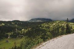 Senkbodenalm. Pasture near Wildalpen, Hochschwab mountain range, Styria Royalty Free Stock Images