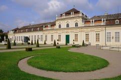 Senken Sie Belvedere-Palast Lizenzfreie Stockfotos
