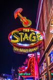 Senken Sie Broadway Nashville Stockbilder