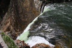Senken Sie Fall Grand Canyon s von Yellowstone Nationalpark Lizenzfreie Stockfotografie
