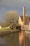 Senken Sie Gemetzel-Mühle stockbild